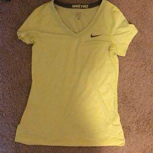 Women's nike pro shirt